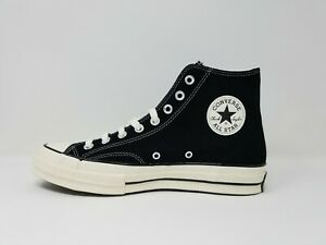 Converse Chuck Taylor 70 Suede High Top 166216C Black White Beige Unisex Classic