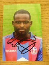 Circa década de 2000 autógrafo: Crystal Palace-Cort, Leon [photogra brillante firmada a mano