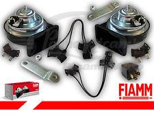 927695 PAAR TROMPETEN HUPE FIAMM AM80S 12V AUTO FAHRZEUGE COM RELE' +