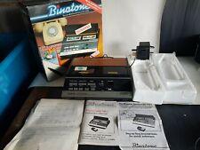 VINTAGE BINATONE PHONECORDER DUAL TAPE ANSWERING MACHINE COMPLETE + BOXED RARE