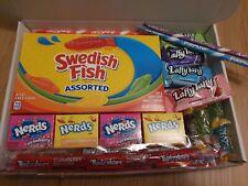 99p START Swedish Fish American Candy Gift Box Nerds Twizzler Sweets Birthday
