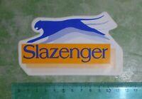 ADESIVO - STICKER - AUTOCOLLANT - SLAZENGER - ANNI '80 - VINTAGE - 12x7 cm