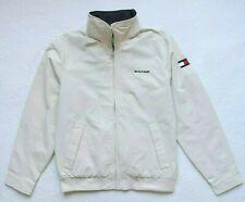 Tommy Hilfiger Mens Yacht Jacket Windbreaker, Beige, Size: S