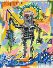 Jean Michel Basquiat Untitled Canvas Print  16 x 20   #7740