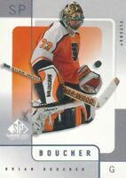 2000-01 SP Game Used Hockey #44 Brian Boucher Philadelphia Flyers