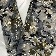 NWT One Size Floral Abstract Print Leggings Buttery Soft OS Multi Color Flowers