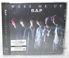 B.A.P WAKE ME UP 2017 Japan CD w/bonus trks「I Guess I Need U」「Be Happy」BAP