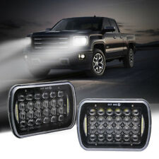 2x DOT 7x6 5x7'' 170W Hi/Lo Beam Bulbs LED Headlight for Jeep Cherokee XJ Trucks