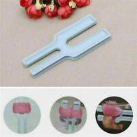 Kunststoff Einfach Pompon Maker Fluff Ball Weaver Nal Weben Stricken