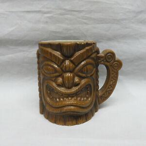 Vintage EFCCO San Francisco Tiki Mug Coffee Mug Barware Swank Retro Kitsch