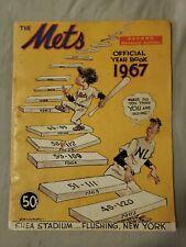 1967 New York Mets Yearbook (2nd Revised Edition), Tom Seaver, Cleon Jones RARE