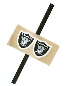 Raiders Mini Football Helmet Decals Free Shipping