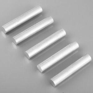 "5x Magnesium Element Metal Rods Ingot High Purity 4N 99.99% - 5"" long"