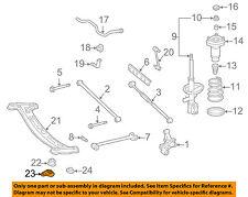 TOYOTA OEM Rear Suspension-Susp Crossmember Retainer Left 5220433010