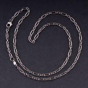 Georg Jensen Sterling Chain 45 cm, Silver. Figaro. Heritage. 3532781. NEW!
