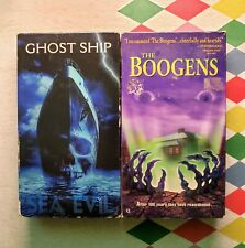 The Boogens (VHS, 1997) RARE OOP HTF  & Ghost Ship VHS HTF