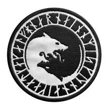 REFLECTIVE Viking Odin Úlfhédnar No Mercy Only Violence Wolf Odin IRON ON PATCH