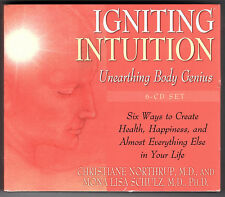 IGNITING INTUITION Unearthing Body Genius -Northrup & Schulz 6 Audio Cd set NEW