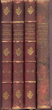 Favre Dictionnaire Universel de Cuisine 1894 Gastronomie Oenologie Recette vin