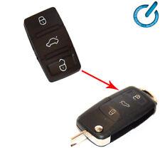 GOMA botonera para MANDO CARCASA LLAVE key AUDI SKODA SEAT VOLKSWAGEN VW