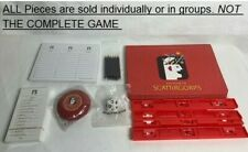 U-PICK NEW!!! Scattergories Game Replacement Parts Pieces 2003 cards die timer