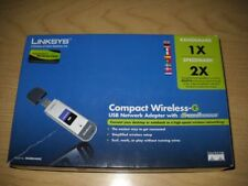 Linksys WUSB54GSC Compact Wireless-G, scheda di rete WiFi, USB Network Adapter