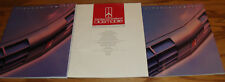 1991 Oldsmobile Full Line Regular Deluxe & Exterior Colors Sales Brochure Lot