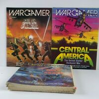 WarGamer Magazine Lot Of 11 Central America Axis & Allies Raid on St Nazaire...