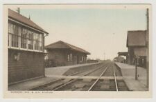 More details for cambridgeshire postcard - murrow mid & g.n railway station (a143)