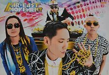FAR EAST MOVEMENT - A3 Poster (ca. 42 x 28 cm) - Clippings Fan Sammlung NEU
