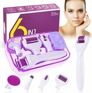 Derma Roller 0.25/0.5/1 mm pour l'acne les rides et l'anti-age Professionnels
