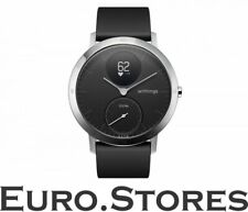 Withings Steel HR, smartwatch and fitness tracker, 40 mm, black