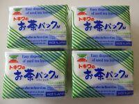 4 Packs (240 Pcs) Japanese TOKIWA Disposable Filter Bag/Tea, Coffee, Made Japan