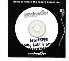 (GR839) Kingsize, Love, Lust And Other Disasters - DJ CD