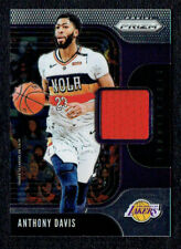2019-20 Panini Prizm ANTHONY DAVIS Sensational Swatches #SS-ADV Jersey