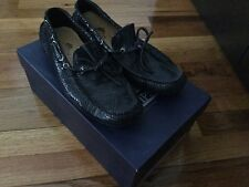 Thompson Original Model Men's Black Driving Loafers US 8 EU 41 Made in Italy