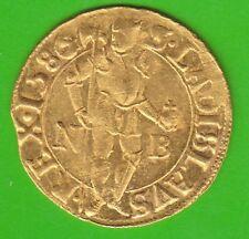 Or la Pologne Ducat 1586 NB SUPERBE reçu mieux que VZ très rarement nswleipzig