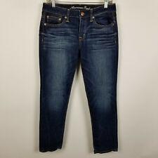 American Eagle Stretch Slouchy Skinny Dark Wash Womens Jeans Size 4