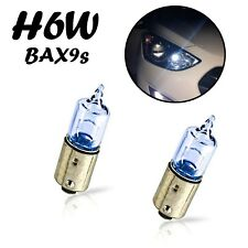 2x H6W BAX9S 12V Blue Vision Ersatz Halogen Lampe Super White Standlicht