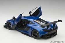 AUTOART McLAREN 650S GT3 BLUE/BLACK ACCENTS 1:18*New! Super Hot Car!