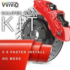 VViViD Enamel Paint Wrap High Temperature Vinyl Film For Calipers (Red) Red