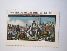 1813-1913 - Jahrhundertfeier - Das letzte Karree / Reklamemarke