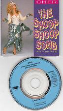 "3 INCH  CD 3"" SINGLE CARTONNE 2T CARDSLEEVE CHER THE SHOOP SHOOP SONG 1990"