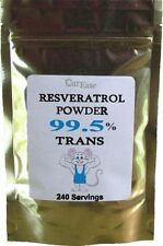 99.5% Pure Trans Resveratrol Powder | 4 Months Supply | No Emodin