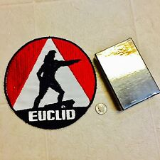 NOS EUCLID DUMP TRUCK TRUCKING PATCH ARRCO PLAYING CARD CO CHICAGO NEW SEALED