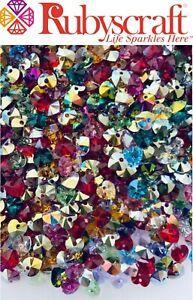 20pcs Mix Original Swarovski Crystal 6228 XILION Heart Pendant  - Genuine - 10mm