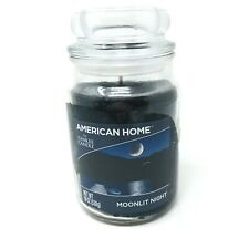 Yankee Candle American Home Scented Jar Glass Candle 19 oz Moonlit Night 1 Wick