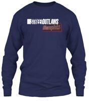 Street Outlaws Memphis S - Streetoutlaws Gildan Long Sleeve Tee T-Shirt