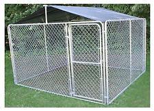 STEPHENS PIPE & STEEL LLC Dog Kennel Roof Kit, 10 x 10-Ft. DKR10100
