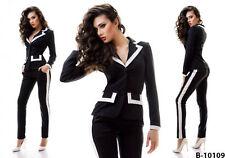 Zweiteilige Damen-Anzüge & -Kombinationen im Hosenanzug-Stil aus Viskose für Business